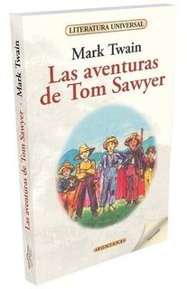 Libro. Las Aventuras De Tom Sawyer. Mark Twain. Fontana.