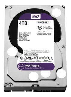 Hd Wd Purple Dvr 4tb 64mb Cftv Intelbras 2 Anos Garantia