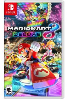 ® Mario Kart 8 Deluxe Nintendo Switch Fisico Nuevo Sellado