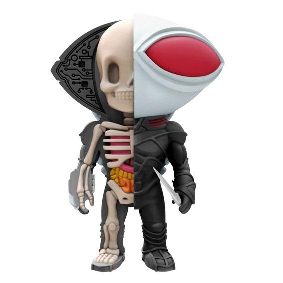 Figura Colecionável - 10 Cm - Xxray - Liga Da Justiça - Mant