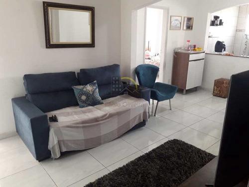 Imagem 1 de 13 de Apartamento Com 2 Dorms, Centro, São Vicente - R$ 290 Mil, Cod: 1618 - V1618