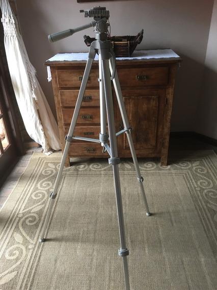 Tripé Para Câmera Wt3560 Prata Weifeng - Estado De Nova!