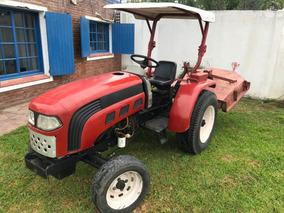 Tractor Hanomag Parquero Con Desmalezadora