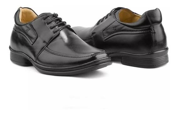 Sapato Masculino Rafarillo Alth 9305 Couro Você 7 Cm + Alto