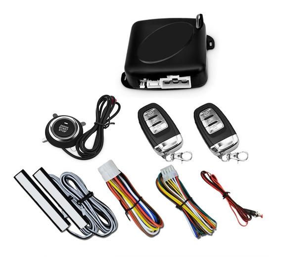 C6 - Sistema De Arranque De Botón B Alarma De Seguridad Del