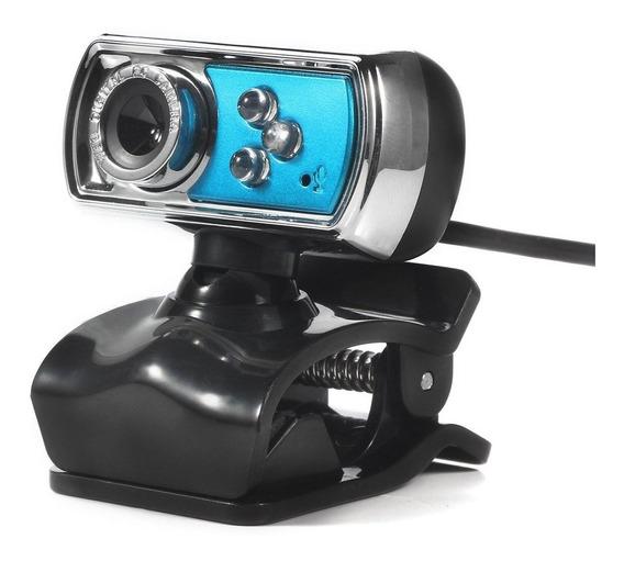 A7170 Webcam Hd Web Computador Câmera Embutida Microfone Usb