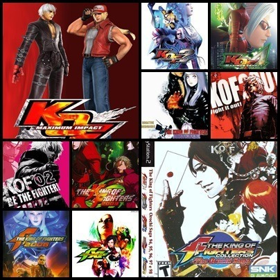 Ps2 - King Of Fighters - 10 Dvds - Play 2 Desbloqueado