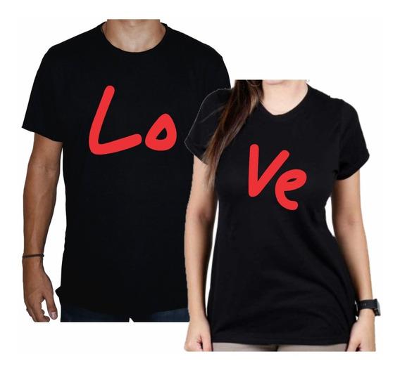 Camiseta Casal Love Namorados