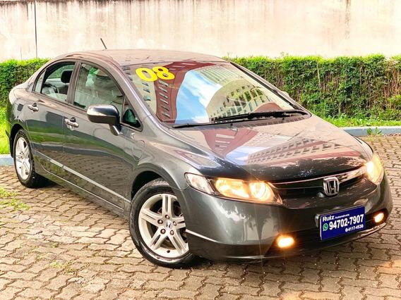 Honda Civic Exs Flex Automático Metro Vila Prudente Raridade