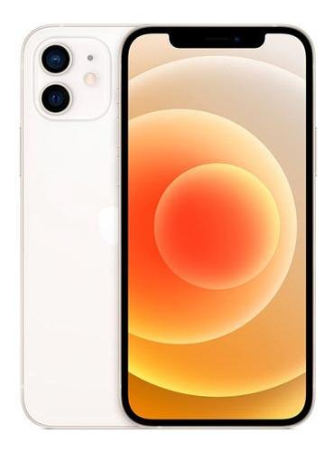 Imagem 1 de 7 de iPhone 12 Branco, Com Tela De 6,1 , 5g, 128gb - Mgjc3br/a