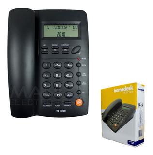 Teléfono Casa U Oficina Homedesk Tc-9200 Alámbrico Remate Últimas Piezas Envío Gratis Y Garantía