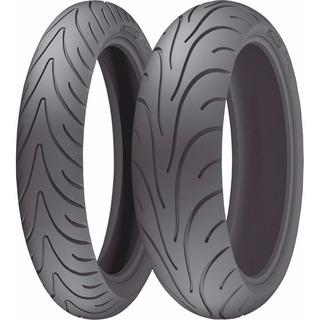 Pneus Road 2 Michelin 120/70-17 180/55-17 Bmw F800r 1200 Rt