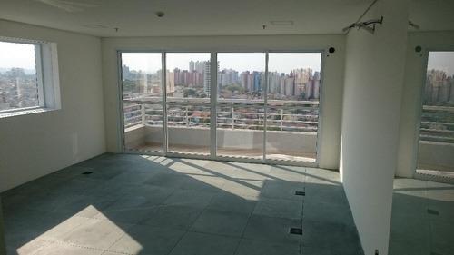 Imagem 1 de 6 de Sala Comercial Para Locação, Jardim Três Marias, São Bernardo Do Campo. - Sa0006