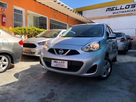 Nissan March S 1.0 12v Completo Flex