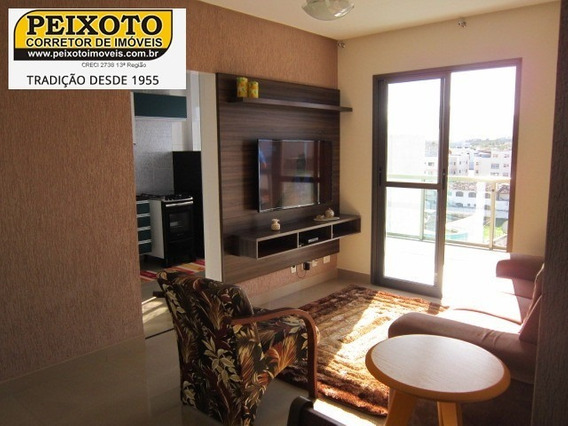 Apartamento 02 Suítes Novo - Av. Praiana - Praia Do Morro - Frente - Ap00837 - 34281880