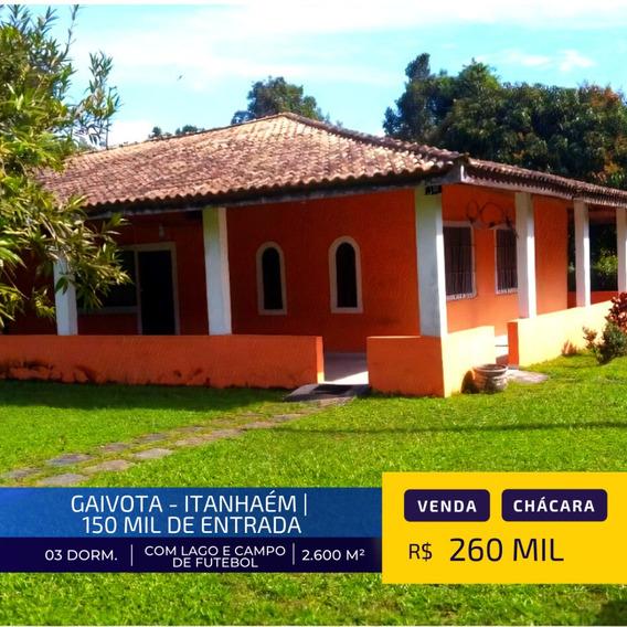 Chácara Em Itanhaém Litoral Sul | Aceita 150 Mil De Entrada