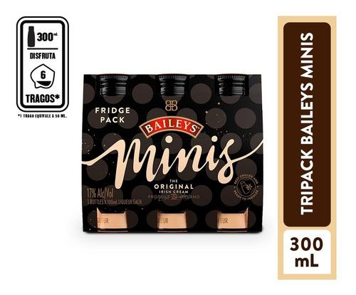 Crema De Whisky Baileys Minis Tripack 3 - mL a $100
