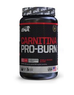 Carnitina Pro Burn Ena 60 Cápsulas Quemador Grasa