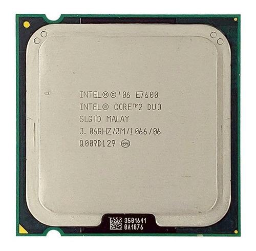 10x Processador Core 2 Duo E7600 3,06ghz 3mb 1066 Lga 775 ¨