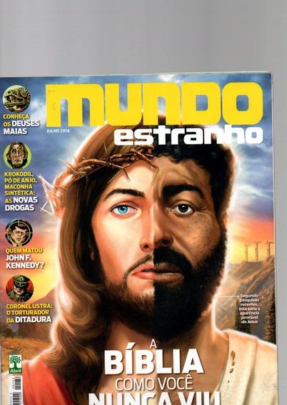 Revista Mundo Estranho A Bíblia Como Você Nunca Viu Jul/2016