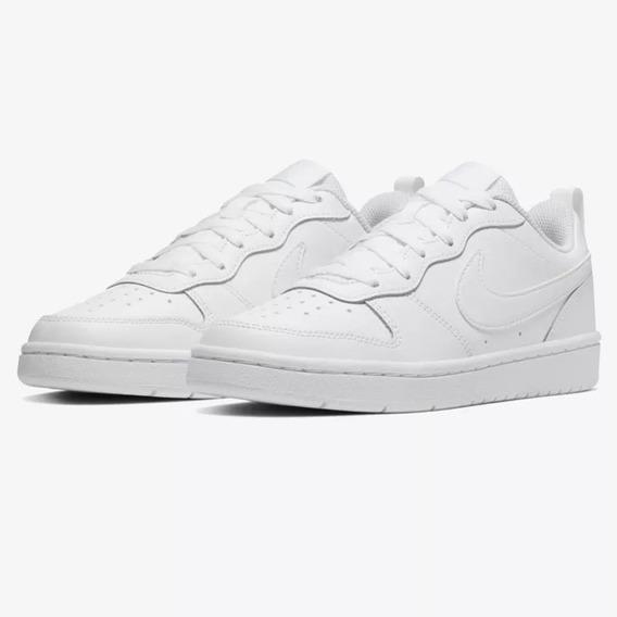Tenis Nike Court Borough Low 2 (gs) Bq5448-100