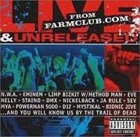 Cd Live&unreleased From Farmclub com Nwa, Eminem