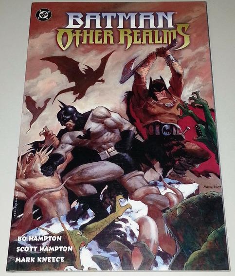 Batman Livro De Contos Arte Bo E Scott Hamptom Dc Comics