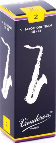 Pack De Cañas Vandoren Traditional Sr222 De Saxo Tenor N2 X5