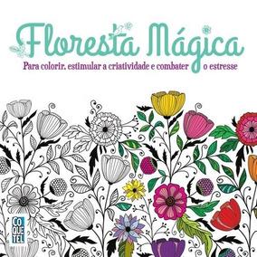 Livro De Colorir - Coquetel Floresta Magica
