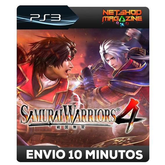Samurai Warriors 4 - Psn Ps3 - Envio Imediato