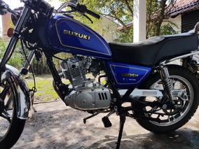 Suzuki Gn 125 H 2017, Muy Poco Uso!
