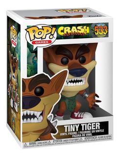 Funko Pop #533 Tiny Tiger - Crash - 100% Original!