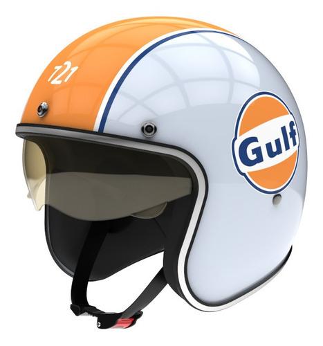 Imagen 1 de 4 de Casco para moto abierto Hawk 721 gulf talle S