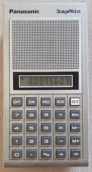 Calculadora Panasonic Talk ( Sharp Casio Texas Hp )