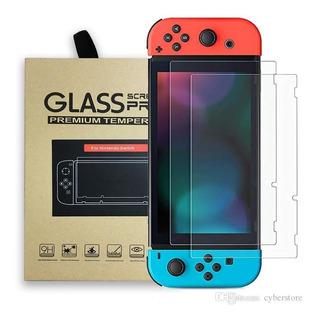 2 Piezas Mica Cristal Templado Nintendo Switch 9h 0.33 Mm
