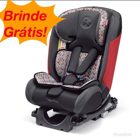 Cadeira Bebe Isofix All Stages Vermelha Fisher Price 36kg