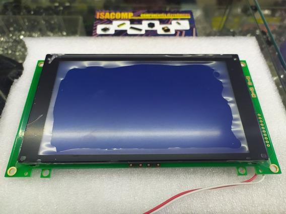 Display Gráfico Lcd Azul 240x128p - Wg240128-tmi-vz#130