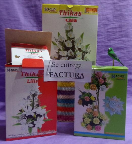 11 Moldes Para Flores Con Goma Eva - 3 Juegos Completos