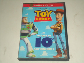 Toy Story - Dvd - Disney - Edição 10º Aniversário
