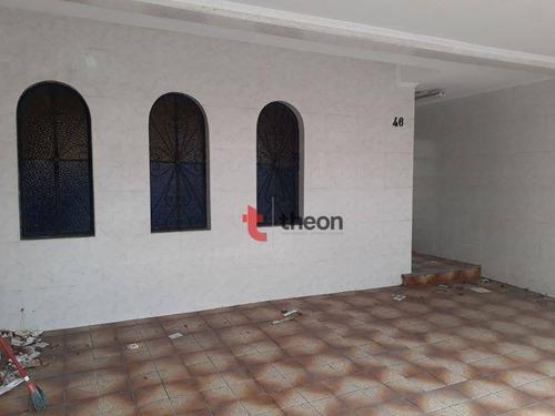 Imagem 1 de 6 de Sobrado Com 5 Dormitórios À Venda, 300 M² Por R$ 850.000,00 - Vila Gomes Cardim - São Paulo/sp - So0006