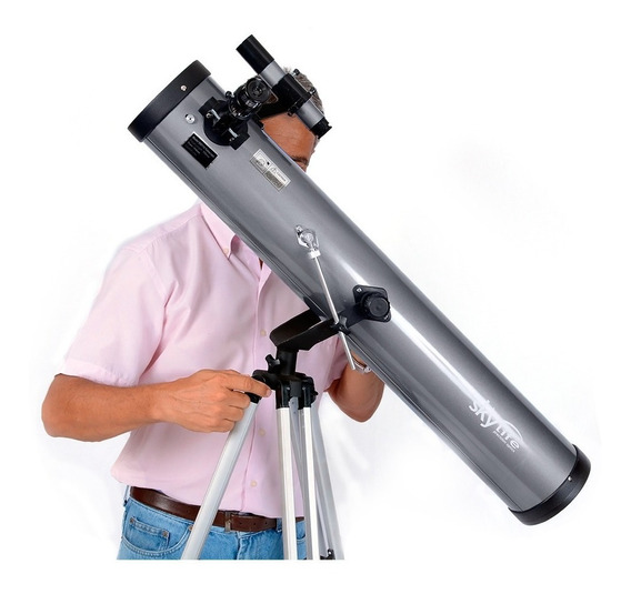 Telescópio Refletor Astronômico Skylife Pegasus + Tripé Az2 - Skylife Marca Especialista Em Produtos Astronômicos