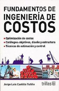 Libro Fundamentos De Ingeniería De Costos Trillas