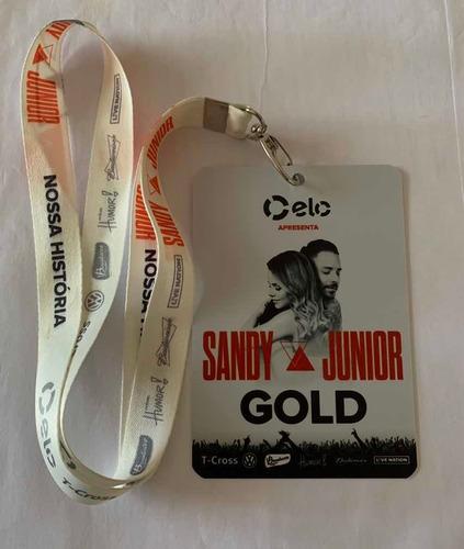 Credencial Vip Gold / Sandy E Junior