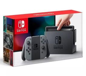 Nintendo Switch 32gb Preto E Cinza Original + Nf