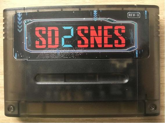 Sd2snes Novo!! Everdrive A Pronta Entrega!! Sem Juros