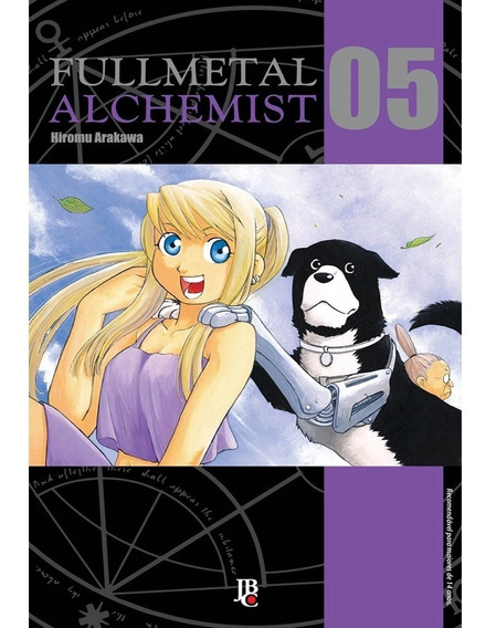 Livro Manga Fullmetal Alchemist Jbc Hq Anime Square Enix