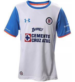 Jersey Cruz Azul Original Under Armur De Niño 2016-2017 Bca