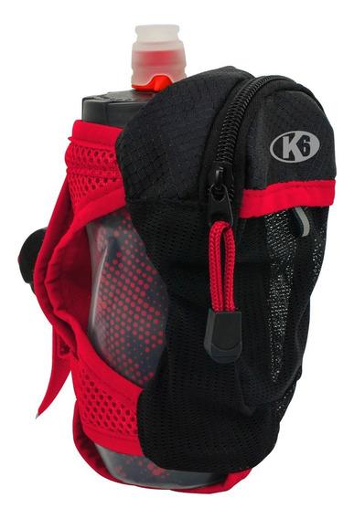 Bolso De Mano Para Correr Con Cooler De Agua 12oz K6 Fitness