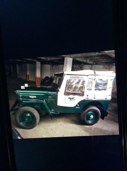 Jeep Willys Modelo 54 Carpado
