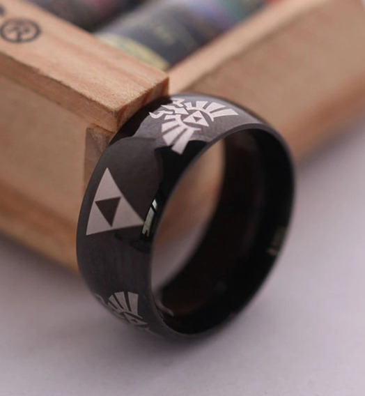 Anel Zelda Triforce